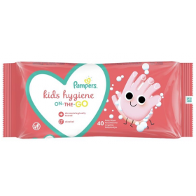PAMPERS WIPES HYGIENE ON THE GO ΜΩΡΟΜΑΝΤΗΛΑ 1Χ40