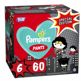 PAMPERS PANTS ΜΕΓ 6  (15+kg) 1X60 SUPER ΗΡΩΑΣ LIMITED EDITION