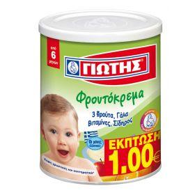 ΓΙΩΤΗΣ ΦΡΟΥΤΟΚΡΕΜΑ ΜΕ 3 ΦΡΟΥΤΑ 00GR