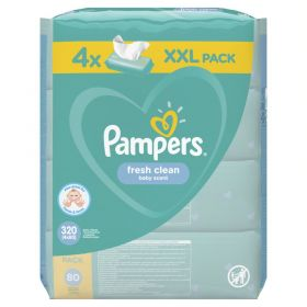 PAMPERS WIPES FRESH 4X80