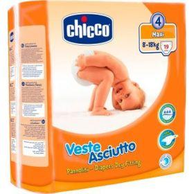 CHICCO ΠΑΝΕΣ VESTE ASCIUTTO No 4 MAXI (8-18 kg), 19 TEM.