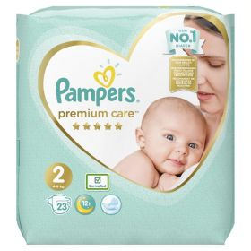 PAMPERS PREMIUM CARE ΜΕΓ 2, 23 ΤΕΜ.