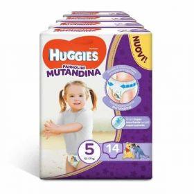 HUGGIES ΠΑΝΕΣ MUTANDINA Νο 5 (12-17 kg), 14 ΤΕΜ.