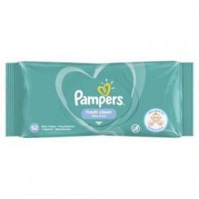 PAMPERS WIPES FRESH 52 TEM.