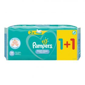 PAMPERS WIPES FRESH 6x2x52 (1+1)