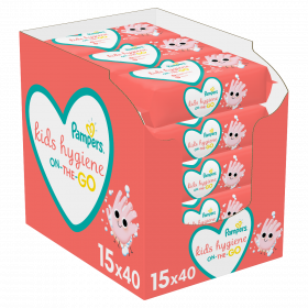 PAMPERS WIPES HYGIENE ON THE GO ΜΩΡΟΜΑΝΤΗΛΑ 15Χ40