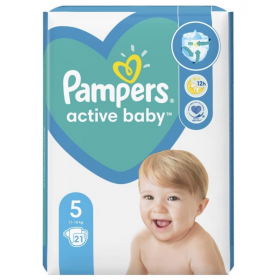 PAMPERS ACTIVE BABY ΜΕΓ 5 (11-16KG) 21 ΠΑΝΕΣ CP