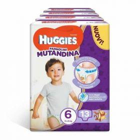 ΠΑΝΕΣ HUGGIES MUTANDINA Νο 6 (15-25 kg), 13 ΤΕΜ.