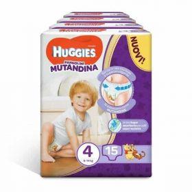 HUGGIES ΠΑΝΕΣ MUTANDINA TG.4 X15